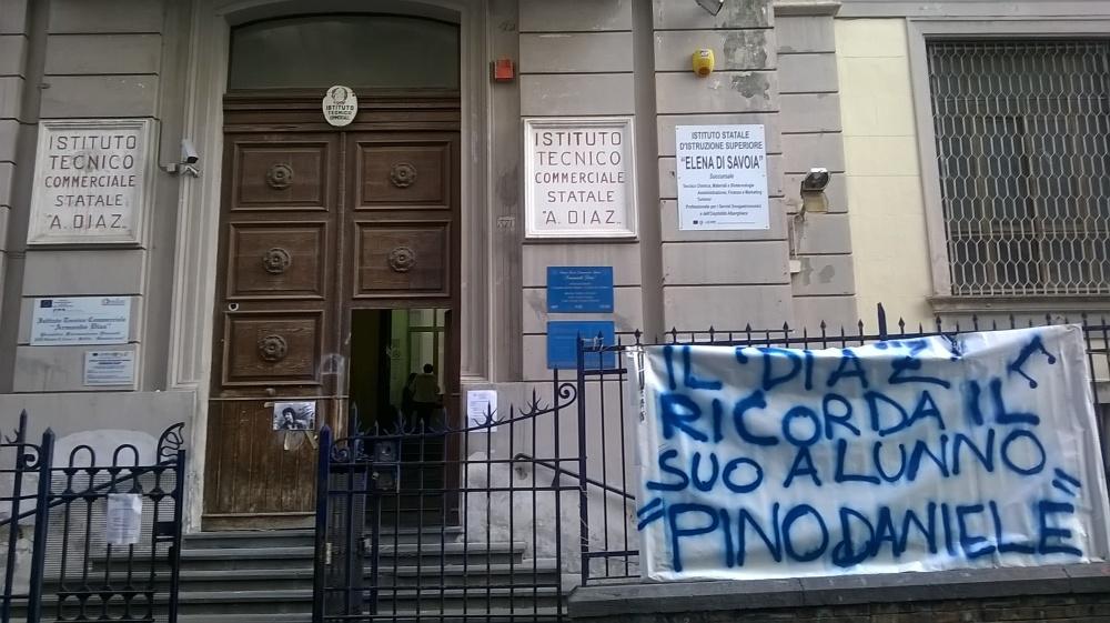 Istituto Diaz scuola di Pino Daniele