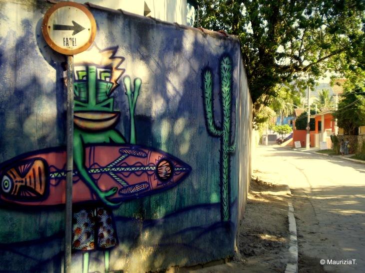 Murales a Maresias